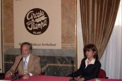 Conferencia en el Círculo de la Prensa, Milán 1998