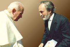 Encuentro con el Papa Juan Pablo II