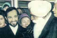 Con Sant Kirpal Singh, Presidente de la Hermandad Mundial de las religiones