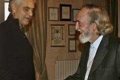 Entrega del premio Arte, Ciencia y Paz a Andrea Bocelli
