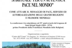 I Conferencia Mundial Ecuménica para la Paz y la Prosperidad de los Pueblos