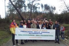 Marcha para el privilegio de las energías alternativas y la salvaguardia del ecosistema (2013)