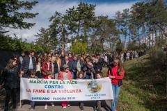 Marcha para la paz en el mundo, contra el hambre y la violencia 2018