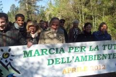 Marcha para la tutela del ambiente 2012)