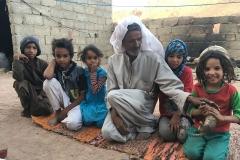 Un grupo de niños de Santa Catalina (Egipto, Sinaí)